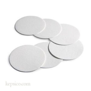 crepped filter paper